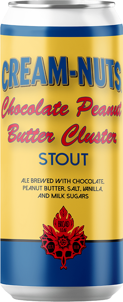 Koeze Cream-Nuts Chocolate Peanut Butter Cluster Stout can